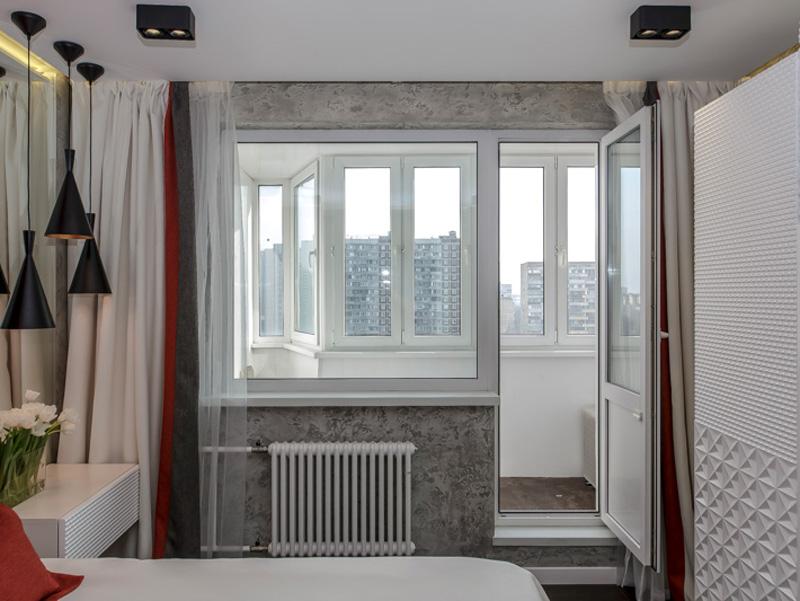 Фотографии балконных дверей - красивые двери в дизайне интер.