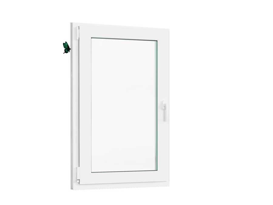 Цены на пластиковое окно для балконного блока размер 1420-87.