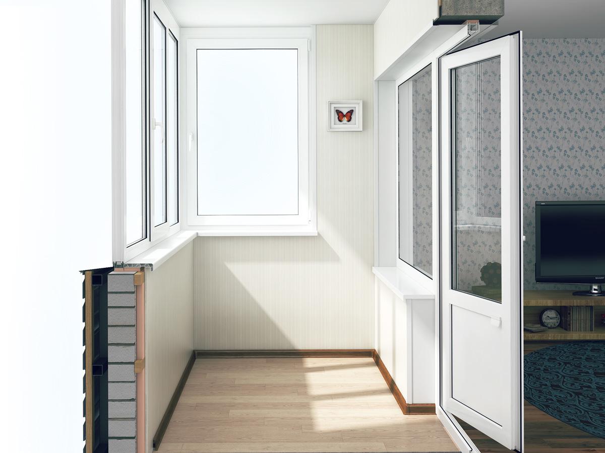 Стоимость отделки балкона, лоджии в москве и области.