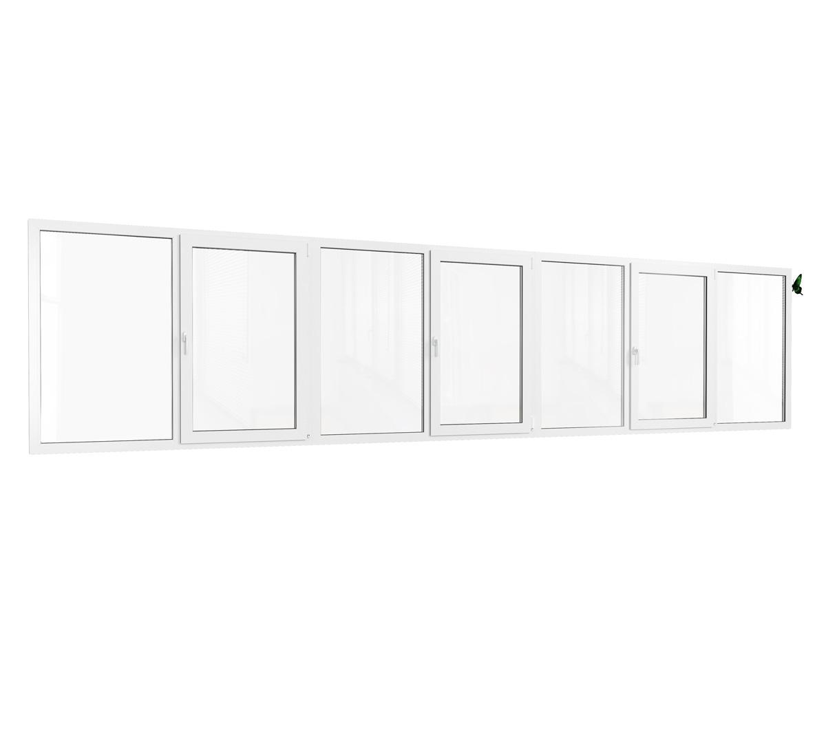 Теплое остекление лоджии пластиковыми окнами. дома серии 160.