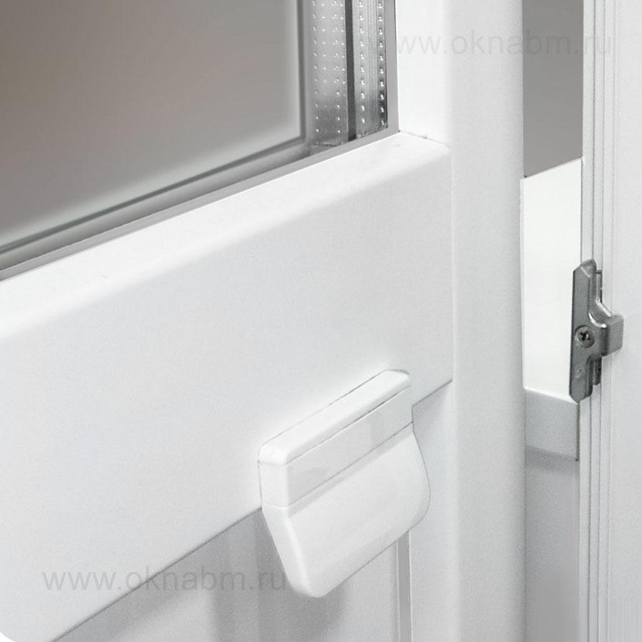 Пластиковая балконная дверь шонберг, размер: 2160-700.