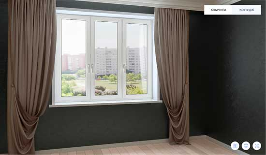 пластиковые окна фото в интерьере квартиры