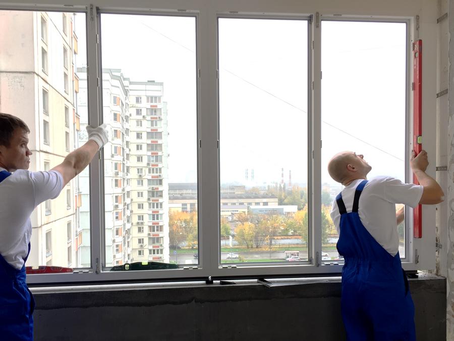 Пластиковые окна veka с фурнитурой roto komfort в телепереда.