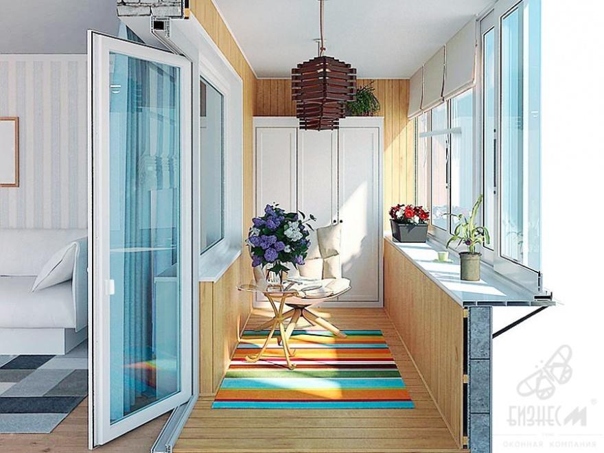 Пластиковая балконная дверь для квартиры, размер: 2250-760 с.
