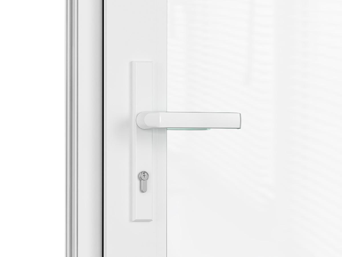 купить дверь входную пластиковую со стеклом