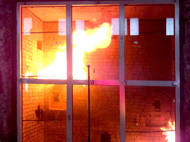Противопожарные пластиковые окна
